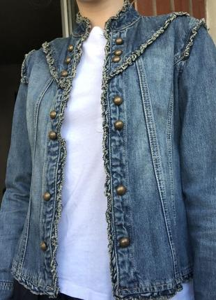 Джинсовая курточка