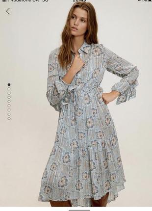 Трендовое платье от mango