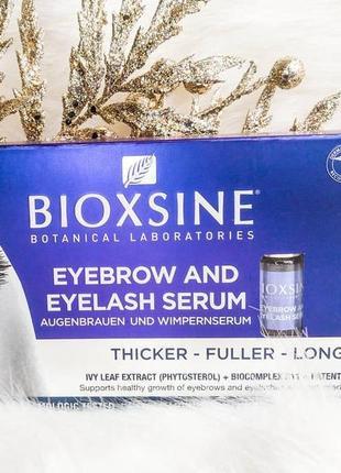 Сыворотка для ресниц и бровей bioxsine, 2х5 мл + 30 шт юнайс