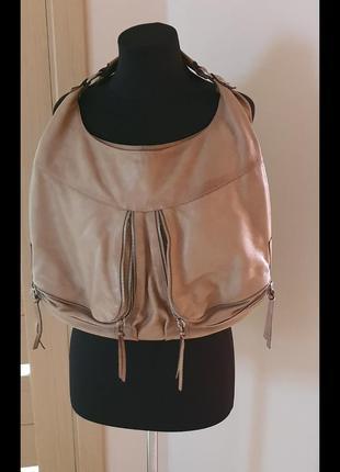 Итальянская сумка, из мягкой кожи