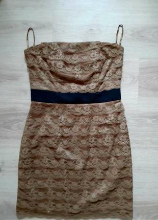 """Платье-корсет""""h&m"""