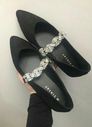 Шикарные балетки-лодочки,туфли