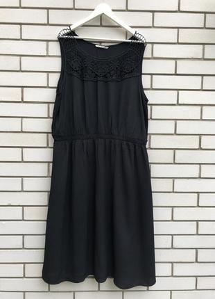 Платье,сарафан кружево по груди,вышивка бисером,вискоза,большой размер