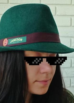 Шляпа с логотипом jameson