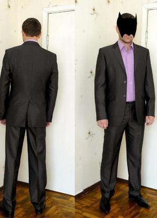 Мужской костюм giordano conti 48 размер
