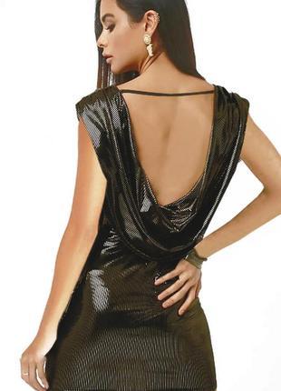 Вечерние платье коктельное диско мини сша aqua