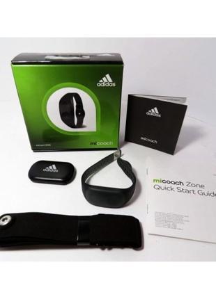 Adidas micoach zone пульсометр с нагрудным датчиком новый
