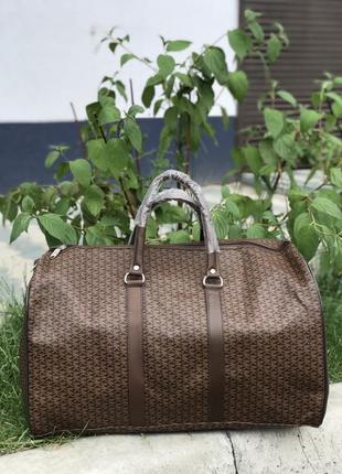 Акція! дорожній саквояж дорожня сумка з еко шкіри / дорожняя сумка эко кожа саквояж