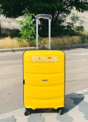 Качество! чемодан пластиковый из полипропилена ручня кладь франция валіза пластикова