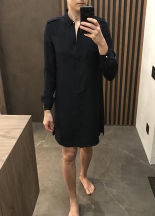 Платье рубашка massimo dutti