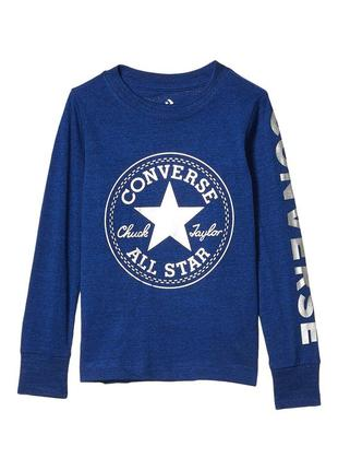 Converse kids foil chuck patch лонгслив р. 98-104 оригинал