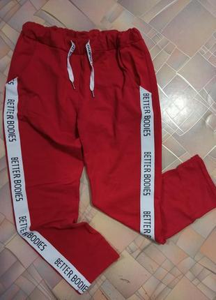 Спортивные штаны new collection с лампасами