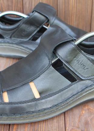 Сандалии rieker кожа германия 46р босоножки туфли