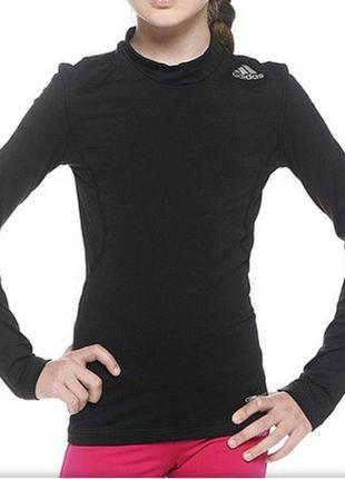 Компрессионная футболка с длинным рукавом реглан adidas 152р