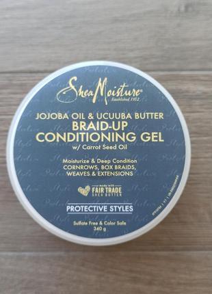 Гель для волос shea moisture braid-up conditioning gel