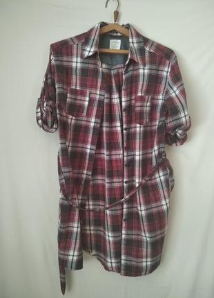 20.  рубашка с длинным рукавом, размер 40, длина рукава 62 см, длина изделия 90 см.