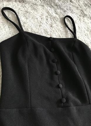 Вечерние чёрное платье