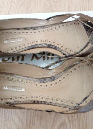 Летние туфли massimo dutti