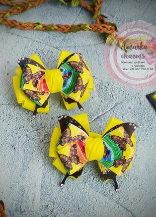 Літні бантики з метеликами
