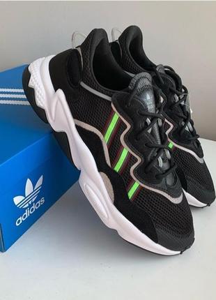 Кроссовки adidas ozweego solar green 🇩🇪