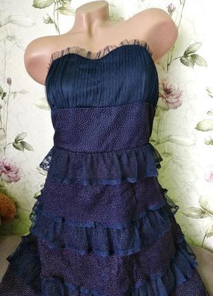 Нарядное вечернее платье девушке р. м