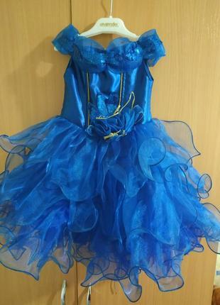 Платье пышное 1-3 годика