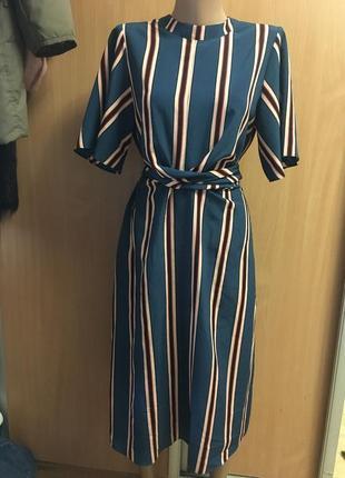 Новое с биркой шикарное платье размер 12