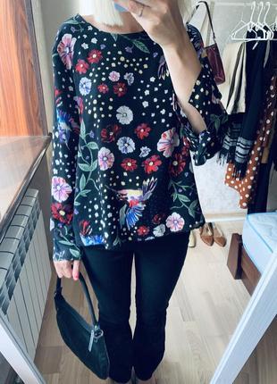 Блуза цветная