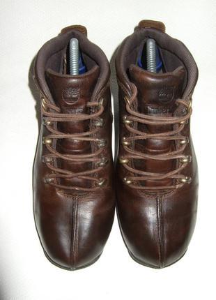 Ботинки, кроссовки, timberland. натуральная кожа. оригинал.