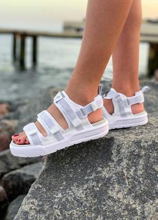 New balance sandal white 🆕 женские босоножки/сандали нью беланс 🆕 белые