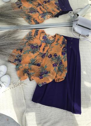 Блузка трендовая актуальная сорочка рубашка базовая