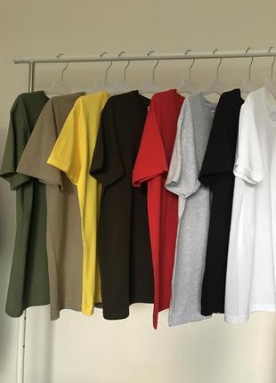 Базовые классные футболки 100% котон