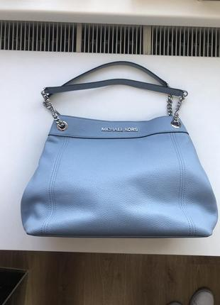 Кожаная сумка michael kors jet set item оригинал