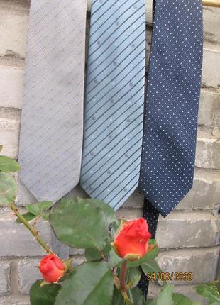 """Легендарный """" giorgio armani """".  3  галстука - 100 грн . 9.5 х 140 см. италия."""