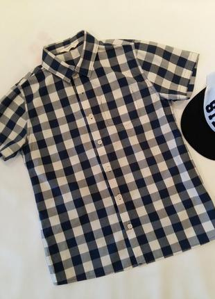 Крутая рубашка для мальчика mango