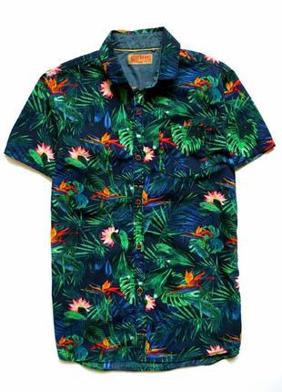 Красивая яркая рубашка next,рост 140 см (10 лет),индия.