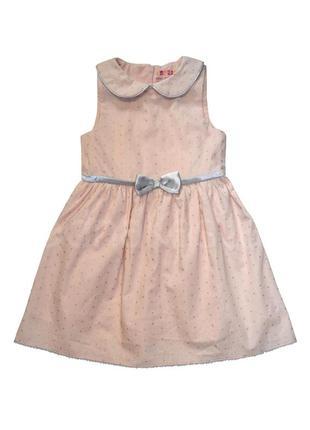 Платье young style  98-104см  110-116см  хлопок  польша