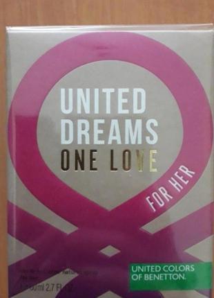 Туал.вода united dreams