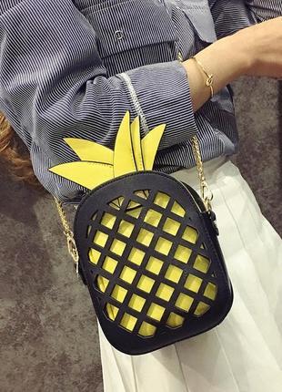 Летняя сумка ананас