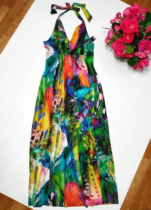 ❤️ шикарное яркое платье