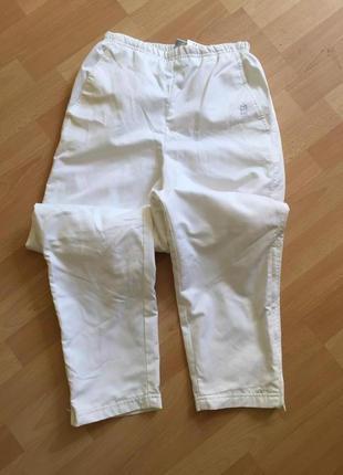 Белые спортивные штаны брюки nike
