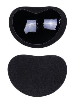 Пуш ап вкладыши вставки самоклеющиеся чёрные, бежевые в купальник в бюстгальтер