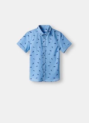 Прикольная рубашка с коротким рукавом
