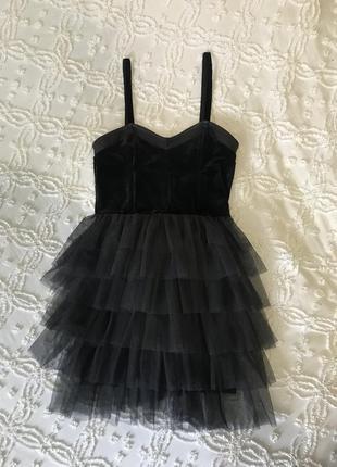 Короткое платье на бретелях ,h&m