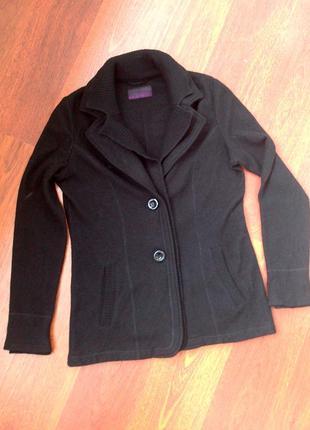Шерстяной кардиган-кофта-пиджак