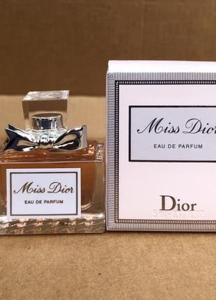 Миниатюра аромата dior miss dior eau de parfum