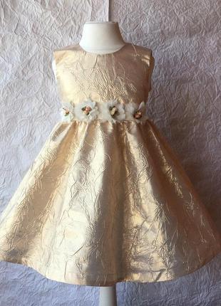 Супер платье для праздников на 1,5-2 года