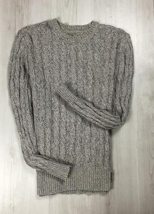 F7 серый свитер superdry супердрю