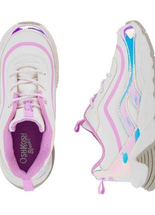 Кроссовки хамелеоны меняющие цвет для девочки