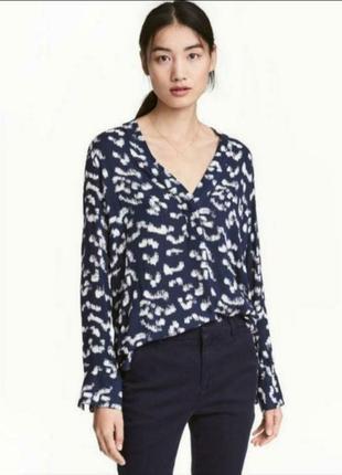Блуза на весну лето из вискозы